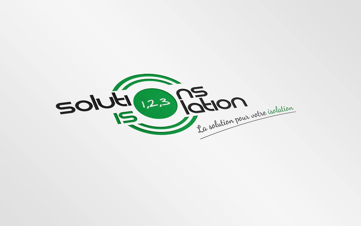 Logo 1,23, solutions isolation